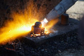 Gas snijden — Stockfoto