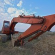 Old excavator — Stock Photo #10165735