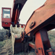 Stock Photo: Old excavator