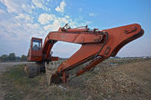 Old excavator — Stock Photo