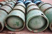 Gas Bottles — Foto de Stock
