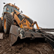 Backhoe — Stock Photo #8450398