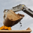 Tracked excavator — Stock Photo #9926061