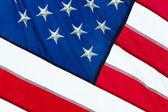 Tissu drapeau closeup — Photo