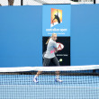 Professional tennis at the 2012 Australian Open — ストック写真