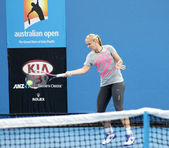 Professional tennis at the 2012 Australian Open — Stock Photo