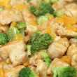 Ginger orange chicken — Stock Photo