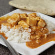Chicken tikka marsala — Stock Photo