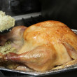 Stock Photo: Thanksgiving turkey cooked