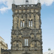 Powder Tower in Prague - Stock Photo