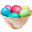 Multicolored Easter eggs — Stock Photo #9634301