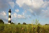 El faro de la isla de bodie de los pantanos — Foto de Stock