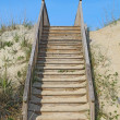 Stairway to a public beach access vertical — Stock Photo #10666567
