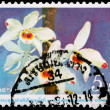 A 5-baht stamp printed in Thailand — Foto Stock
