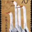 Royalty-Free Stock Photo: A 70-fen stamp printed in China