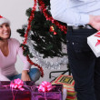 Christmas surprise - Stok fotoraf