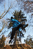 男をジャンプ — ストック写真