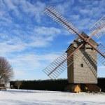 Rural winter landscape — Stock Photo #8991749