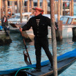 The Gondolier — Stock Photo