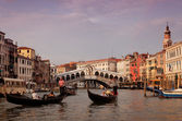 Grand canal in Venice — Stock Photo