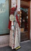 Beba disguising studio in Venice — Stock Photo