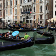 Traffic jam in Venice — Stock Photo