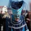 Blue Venetian costume — Stock Photo #9047888