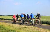 Bicycle riding — Stock Photo