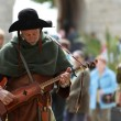 Stock Photo: Medieval troubadour
