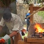 The blacksmith — Stock Photo