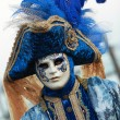Blue Venetian costume — Stock Photo #9064685