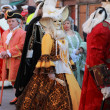 Medieval Venetian parade - Stock Photo