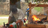 The blacksmith — Stock Photo