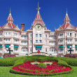 Entrance in Disneyland Paris — Stock Photo