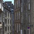 Stock Photo: Rue de lFosse in Saint Malo
