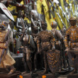 Knight miniatures - Stock Photo