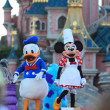 Stock Photo: Minnie Mouse and Donald Duck