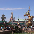 Towers of Disneyland Paris — Stock Photo #9177277