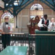 Disneyland Railway station — Stock Photo