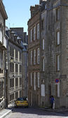 Rue de la Fosse in Saint Malo — Stock Photo