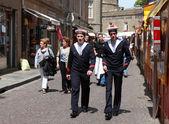 The streets of Saint Malo — Stock Photo