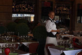 カフェ ・ ド ・ サン ・ マロ — ストック写真