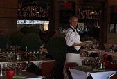 咖啡馆圣马洛 — 图库照片