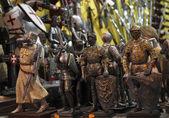 Knight miniatures — Stock Photo