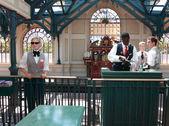 Disneyland Railway station — Stock Photo