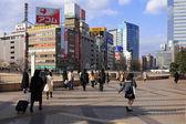 Sendai tågstation — Stockfoto