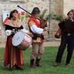 Постер, плакат: Medieval band