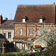 Stock Photo: Traditional France house in spring