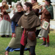 Medieval dance — Stock Photo