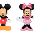 Mickey and Minnie mouse - Stock Photo